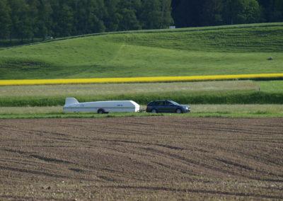 Départ pour un pilote vâché // Photo par Martijn Sassen